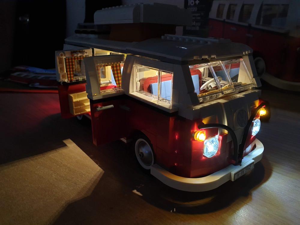 Lego Creator Expert 10220 Volkswagen T1 Camper Van Build Tips And