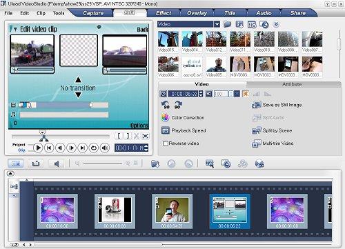 video studio 10 software