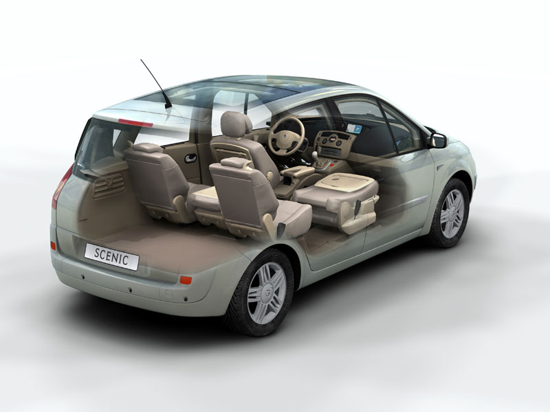 Fan site for the utterly wonderful renault scenic great for Interior renault scenic